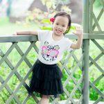 Chụp ảnh ngoại cảnh bé Minh Đan